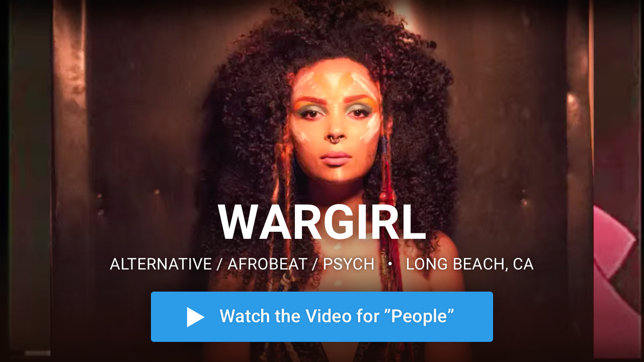 WARGIRL —  Alternative / Afrobeat / Psych · Long Beach, CA