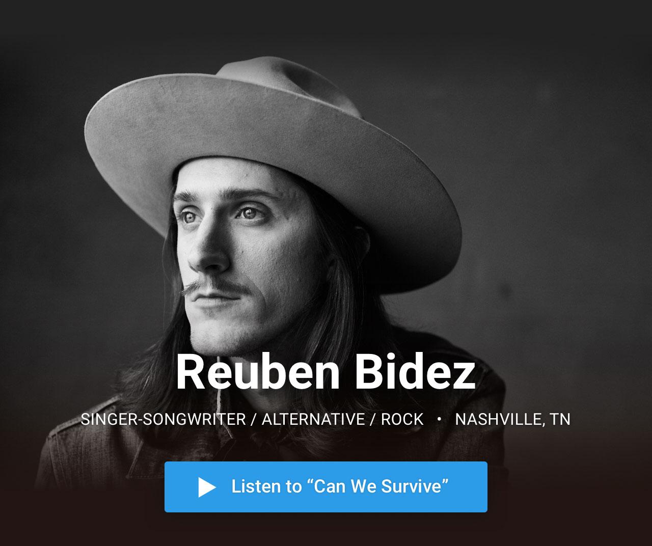 Reuben Bidez —  Singer-Songwriter / Alternative / Rock · Nashville, TN