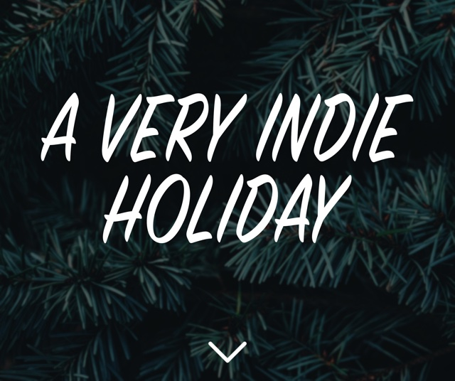 Cover of A Very Indie Holiday Collection